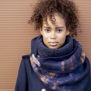 STOLT! - CATO sjaal, rechthoekige driehoek